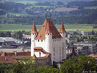 Thun Castle - Another view of the castle