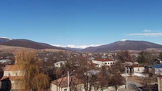 Tianeti Townlet in Mtskheta-Mtianeti, Georgia