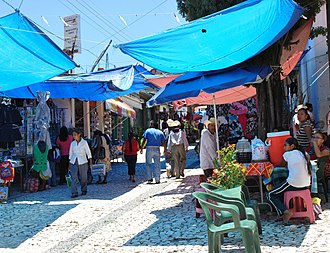 Tianguis - Tianguis or market day in Ixcateopan de Cuauhtémoc, Guerrero
