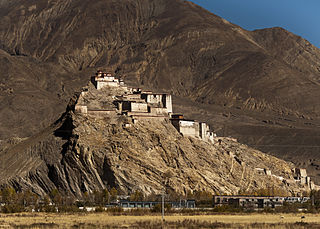Gyantse Dzong fortress
