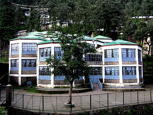 View of Tibetan Children's Villages, at McLeod Ganj, Dharamsala Tibetan Children's Village, McLeod Ganj.jpg