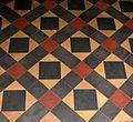 Tiled floor, St Mary's, Burghill - geograph.org.uk - 1131874.jpg