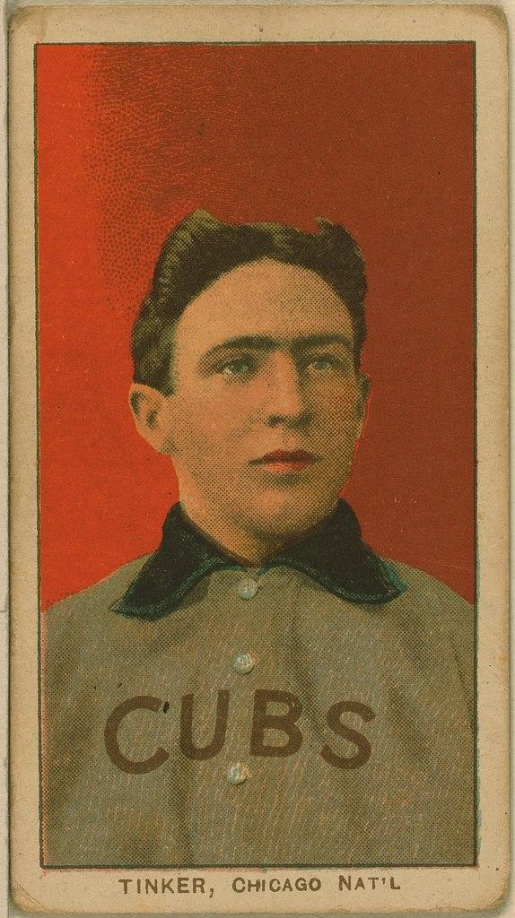 Tinker baseball card