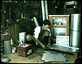 Tinsmith at work. (19942316042).jpg