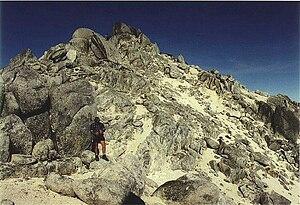 Mount Titiroa - Summit of Mount Titiroa