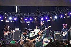 Title Fight - Title Fight performing at Coachella in 2014