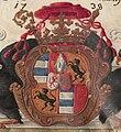 Todesangstbruderschaft Passau 005 Joseph Dominikus von Lamberg Wappen.jpg