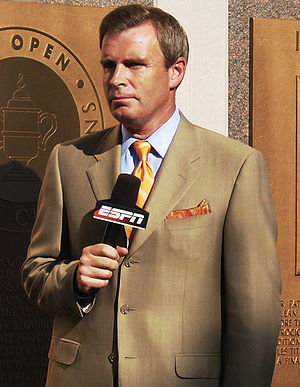 Tom Rinaldi - Rinaldi reporting at the 2009 US Open.