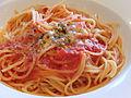 Tomato sauce spaghetti, at Restaurant Gusto (2013.07.13) 2.jpg