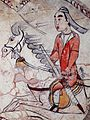 Tomb of Northern Qi Dynasty in Jiuyuangang, Xinzhou, Mural 03.jpg