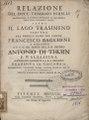 Tommaso Perelli – Relazione del dott. Tommaso Perelli mattematico, ., 1771 - BEIC 12794168.tif