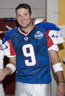 Description de l'image Tony Romo before 2008 Pro Bowl.JPEG.