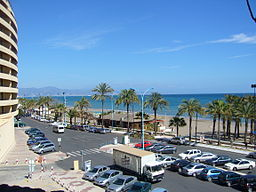Torremolinos waterfront