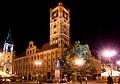 Toruń - Ratusz nocą.jpg
