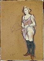 Toulouse-Lautrec - Femme de maison blonde, 1894.jpg