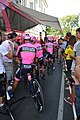 Tour d'Espagne - stage 1 - Manzanan Postobon préparation.jpg