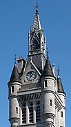 Town House, top of West Tower, Aberdeen, Peddie and Kinnear, 1868-74, photo Jane Cartney 2010RESIZED200