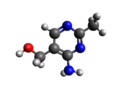 Toxopyrimidine 3D structure.png