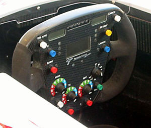 Manettino dial - Image: Toyota F1 steering wheel