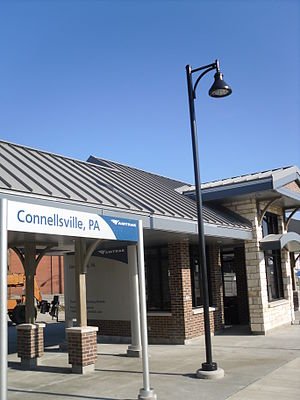 Connellsville, Pennsylvania -  Connellsville Amtrak Station (''Capitol Limited'' line)
