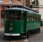 Tram No. 26, Beamish Museum, 10 October 2012.jpg