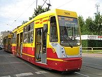 Tramwaj 805Na zmodernizowany Lodz