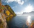 Traunsee in autumn.jpg