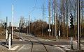 Travaux de la branche vers Vieux-Condé de la ligne B du tramway de Valenciennes en décembre 2013 (298).JPG