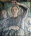 Tre kvinder ser i et Spejl. Olie på lærred. Elisa Maria Boglino.ca 1930.jpg