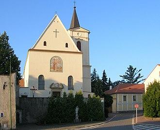 Jejkov - Image: Trebic jejkov kostel