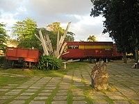 Tren Blindado memorial in Santa Clara (inside park).jpg