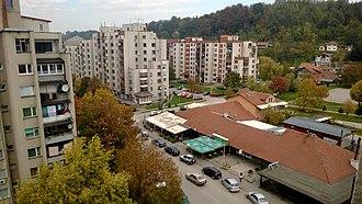 Lukavac - Image: Trg Bremena. panoramio