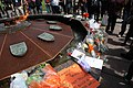 Tributes to Jack Layton at the eternal flame on Parliament Hill (1).jpg