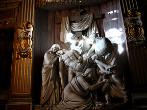 This was the Borghese family's first chapel in...