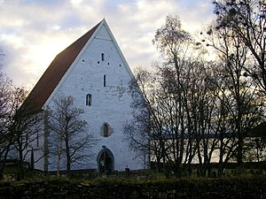 Olav Engelbrektsson - Trondenes church.  Trondenes was an important parish in North Norway long before the arrival of Olav Engelbrektsson's family.