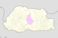 Trongsa Bhutan location map.png