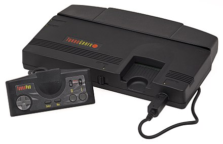A model of the TurboGrafx-16 TurboGrafx16-Console-Set.jpg