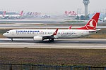 Turkish Airlines, TC-JYH, Boeing 737-9F2 ER (19582947722).jpg