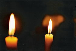 Library image of a candle