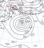 Typhoon Billie analysis 26 Oct 1961.png