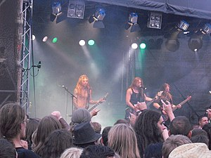 Týr (band) - Image: Tyr Live Wacken 2010