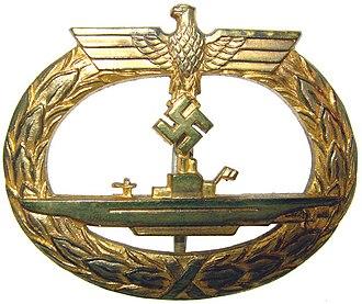 U-boat War Badge - Image: U Boot Kriegsabzeichen