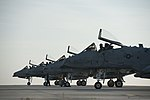 U.S. Air Force maintainers assigned to the 52nd Aircraft Maintenance Squadron conduct launch inspections on A-10 Thunderbolt II aircraft with the 81st Fighter Squadron on the flight line at Spangdahlem Air Base 120904-F-GX122-196.jpg