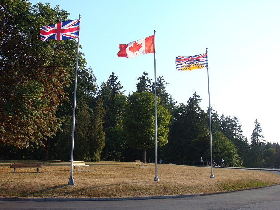 UK-CA-BC Flags