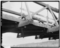UNDERSIDE OF BRIDGE, LOOKING WEST - Fall River Bridge, Spanning Fall River on CCC Camp Road, Ashton, Fremont County, ID HAER ID,22-ASHT,1-6.tif
