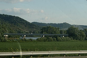 Carl Perkins Bridge - Image: US52SR10473852Carl Perkins Bridge