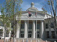 USA-Georgia-Douglasville County Courthouse