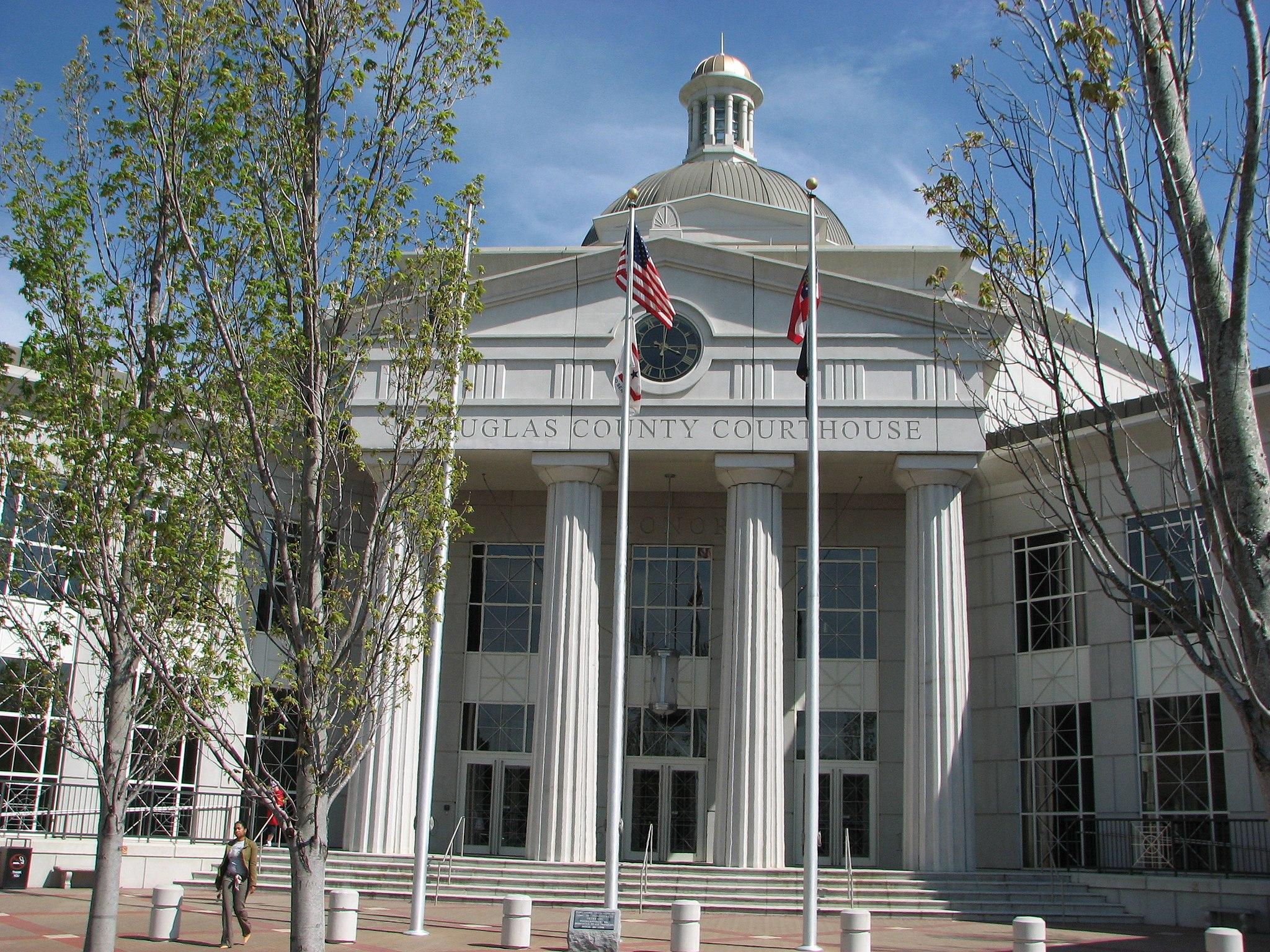 USA-Georgia-Douglasville County Courthouse