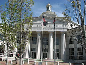 Douglasville, Georgia - Douglas County Courthouse