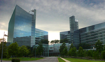 USA Today, the nation's most circulated newspaper, has its headquarters in McLean. USA Today building.jpg